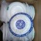 陶瓷餐具碗�P批�l8英寸果�P青枝玉蔓釉中彩8果青花瓷青花003