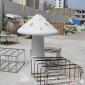 仿真�@林蘑菇雕塑 公�@草地蘑菇�[件 城市�@林雕塑玻璃�大型蘑菇